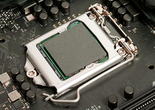 Carbonaut Pad application on CPU